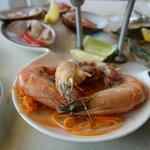Peel & eat shrimp.  Pretty good.