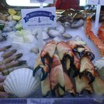 A look at their selection of fresh seafood.