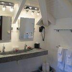 Over-sized loft: Bathroom