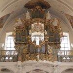 Ein Blick auf die Orgel