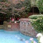 Garden Water feature [smoking area]