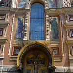 West facade of the Church of Our Savior on Spilled Blood