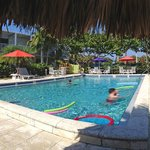 Panoramic of the Pool...