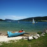 Lac de Joux beach