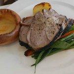 Main 2: Lamb, Yorkshire pudding, etc.