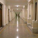Upper floor halls