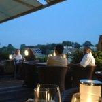 Abendstimmung Terrasse Schöne Aussichten