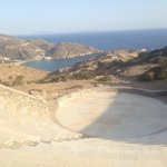 Beautiful amphitheatre a minute walk from the hotel