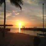 Sunset from Tiki bar