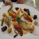 A very tasty lobster dish