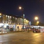 Holiday Inn Istanbul City: Pazartekke Metro station