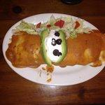 Pregnant burrito