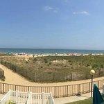 from oceanfront balcony