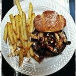 Black & Blue Ox Burger