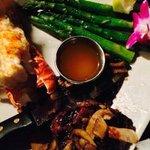 Lobster & steak-surf and turf