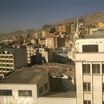 view from Hostel on La Paz