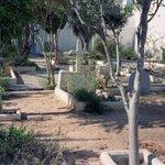 graves at the church