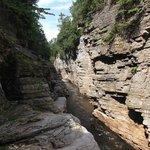 Ausable Chasm 2 miles walk around the rim