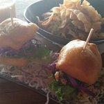 Pork bun & vietnamese salad