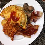 Husband's Breakfast each morning
