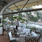 the gorgeous terrace restaurant