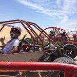 Sun buggy mini chase in Vegas.  Shaka brah!