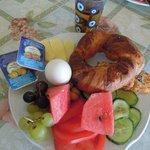 豐盛新鮮的早餐