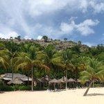Gauguin restaurant from the beach