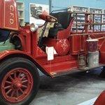 The oldest running firetruck