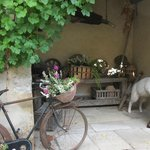 Courtyard nook