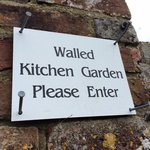 Stone House kitchen garden