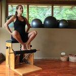 Prenatal Footwork on Wunda Chair