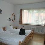 Airy bedroom - top floor