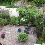 Our garden view.