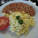 """vegetarian"" Irish breakfast (mit eggs)"