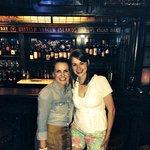 Friends in the wine bar