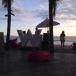 Woobar at dusk....