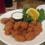 Cheese balls appetizer