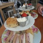 Afternoon Tea at the Grainary, Harwood Dale