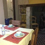Kitchen in the ground floor room