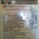 The wall of fame.. parla romano..
