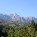 View from our room of the Picos