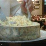 linguine Alfredo in Castelmagno cheese