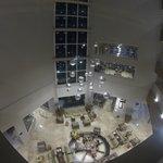 Vista superior del Lobby