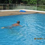 joeswamy having a swim