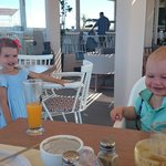 Great breakfast in the restaurant. The kids loved it