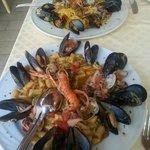 Gnocchetti e tagliolini ai frutti di mare