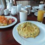 Wide selection of breakfast