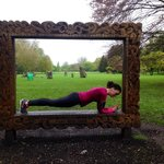 Planking at Bute Park!
