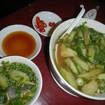 Canh Chua - a traditional Vietnamese sour soup cooked for us